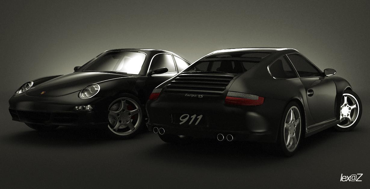 ????????????? ? ???????????? ?????????? ????? (Porsche). 3D ?????????????, ????????????, 3D ???????????. ????????? ???????????